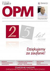 Ogólnopolski Przegląd Medyczny wydanie nr 1-2/2017