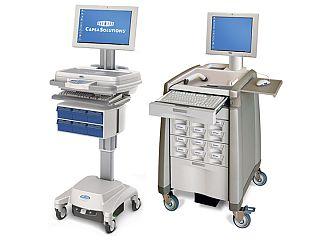 Wózki komputerowe Capsa Solutions