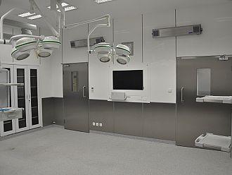 Systemy zabudowy panelowej do sal operacyjnych