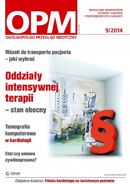 Ogólnopolski Przegląd Medyczny wydanie nr 9/2014