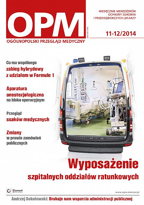 Ogólnopolski Przegląd Medyczny wydanie nr 11-12/2014