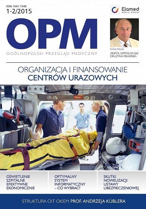 Ogólnopolski Przegląd Medyczny wydanie nr 1-2/2015