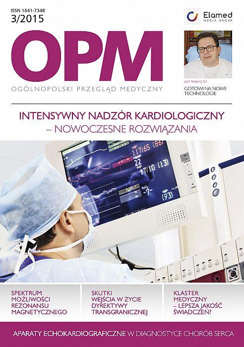 Ogólnopolski Przegląd Medyczny wydanie nr 3/2015