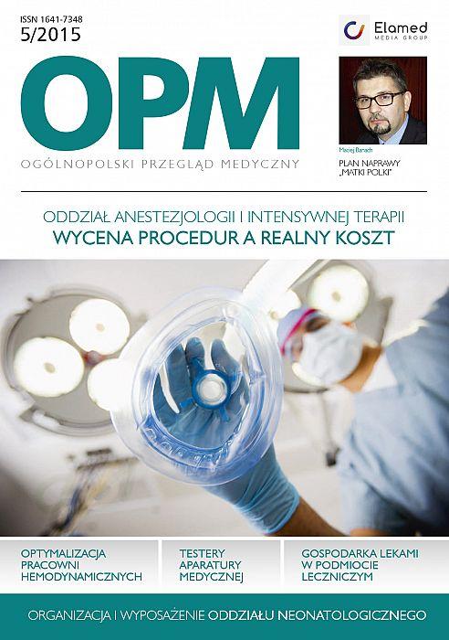 Ogólnopolski Przegląd Medyczny wydanie nr 5/2015
