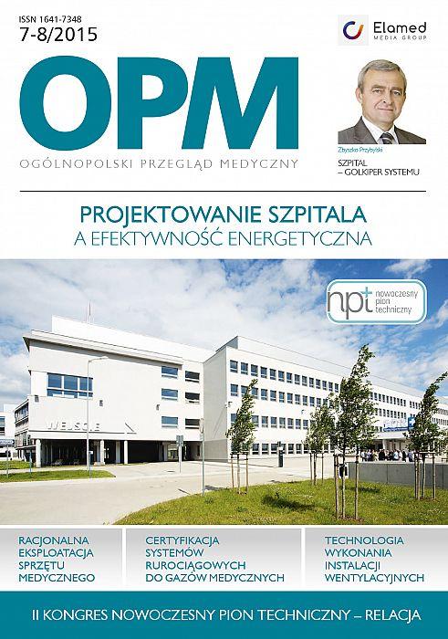 Ogólnopolski Przegląd Medyczny wydanie nr 7-8/2015