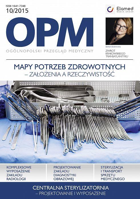 Ogólnopolski Przegląd Medyczny wydanie nr 10/2015