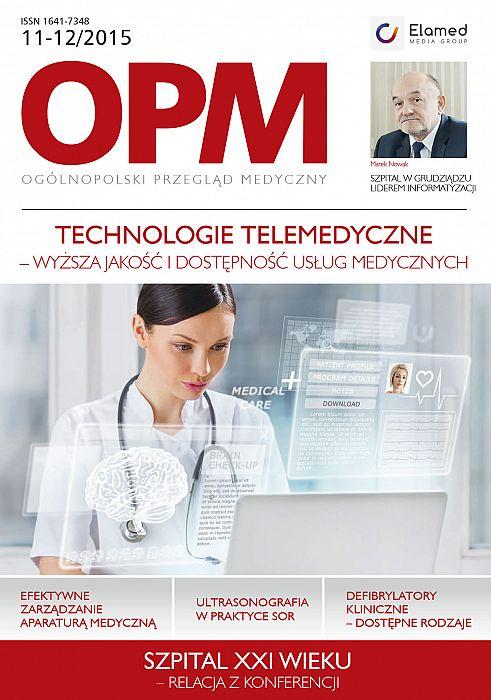 Ogólnopolski Przegląd Medyczny wydanie nr 11-12/2015
