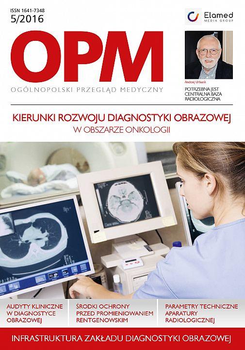 Ogólnopolski Przegląd Medyczny wydanie nr 5/2016