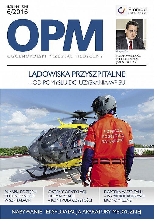 Ogólnopolski Przegląd Medyczny wydanie nr 6/2016