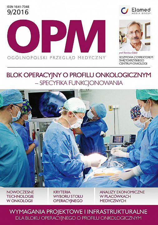 Ogólnopolski Przegląd Medyczny wydanie nr 9/2016