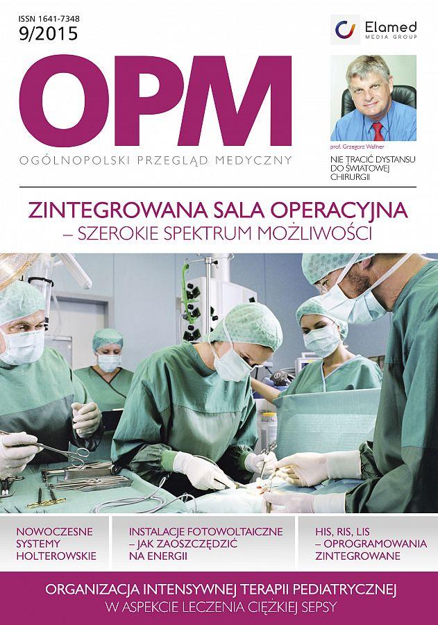 Ogólnopolski Przegląd Medyczny wydanie nr 9/2015