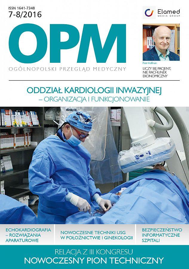 Ogólnopolski Przegląd Medyczny wydanie nr 7-8/2016
