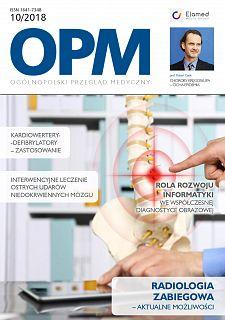 Ogólnopolski Przegląd Medyczny wydanie nr 10/2018