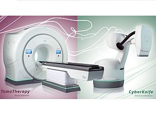 Aparat Tomotherapy oraz CyberKnife